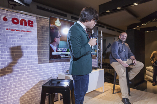 luis piedrahita evento vodafone one